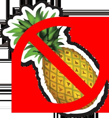 no pine